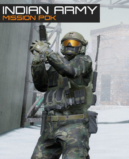 Poster for Indian Army - Mission POK