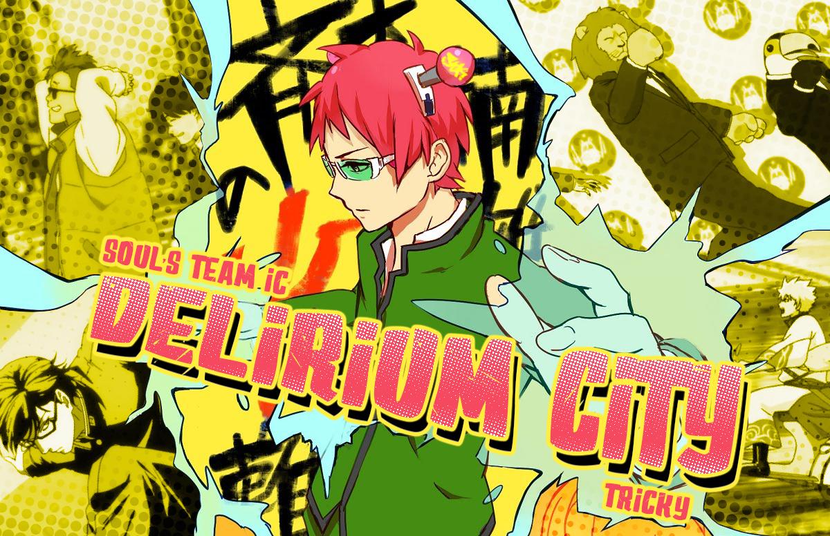 delirium city poster
