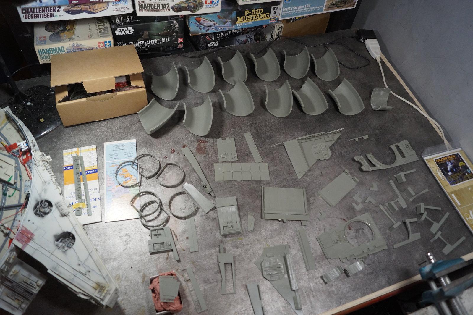 Faucon Millenium Altaya - phase 2 20030502063291612