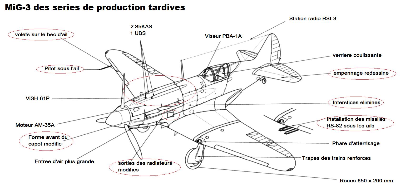 """Mig 3   VVS 34ème IAP 1941 - déco """" Tigre""""  200305044504980698"""