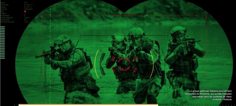 Une Photonis qui équipe les forces spéciales de vision nocturne est t'elle devenue américaine ?. 200305083908405573