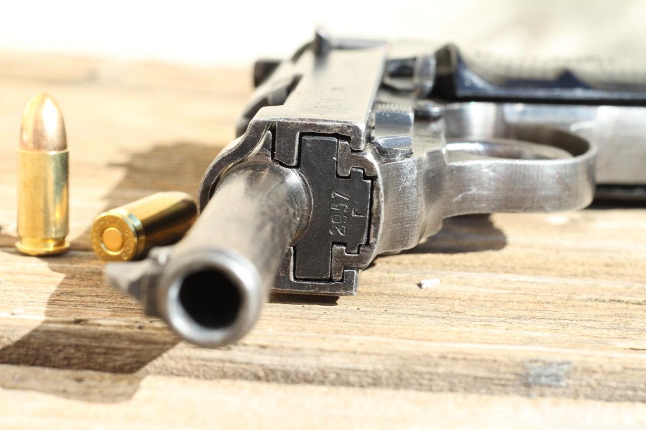 Ma 1ère arme de poing - Mon P38 200307024324271563