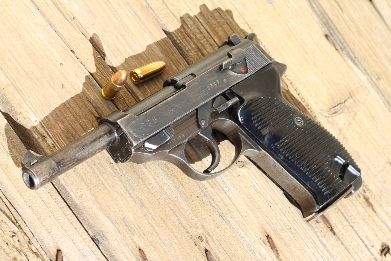 Ma 1ère arme de poing - Mon P38 200307024330723989