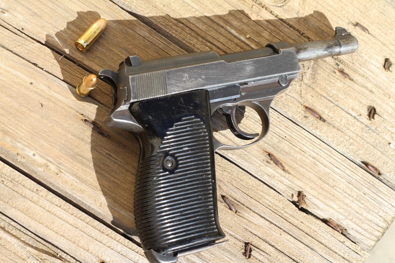 Ma 1ère arme de poing - Mon P38 20030702433237556