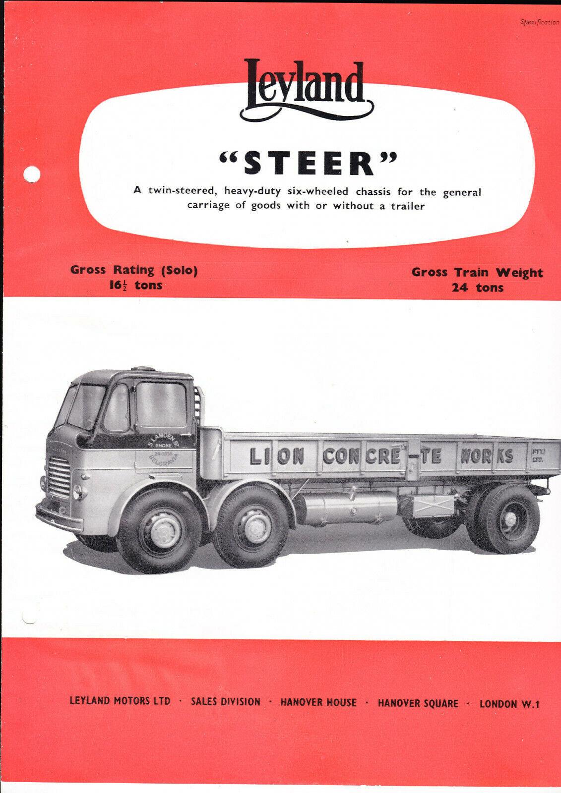 leyland steer.1957