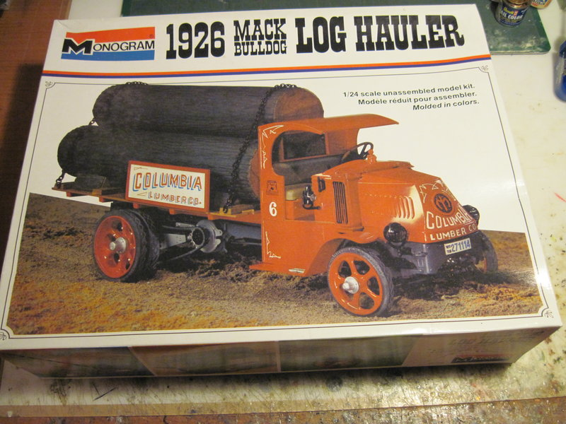 MACK bulldog 1926 Monogram 1/24 200314061706652260