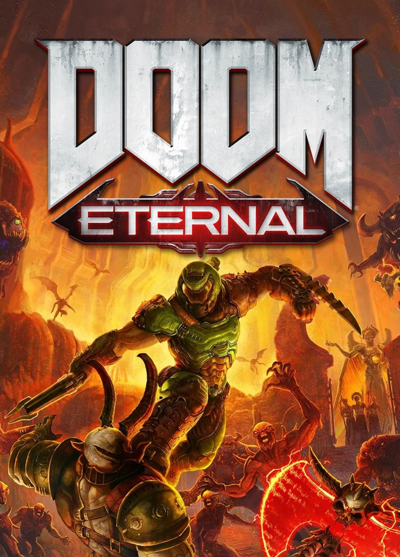 Poster for DOOM Eternal