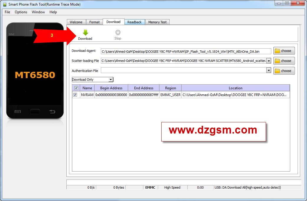 Doogee y8c  NVRAM + FRP + FIRMWARE
