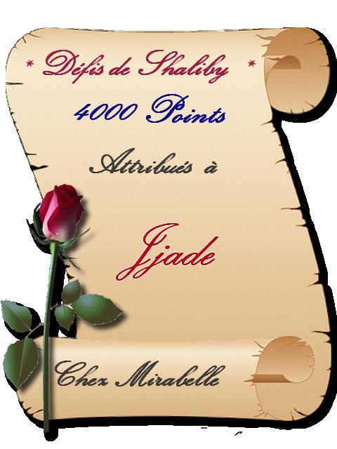 """Récompense: Jade -4000 pts """"Défis de Shaliby"""" 20032109455433584"""