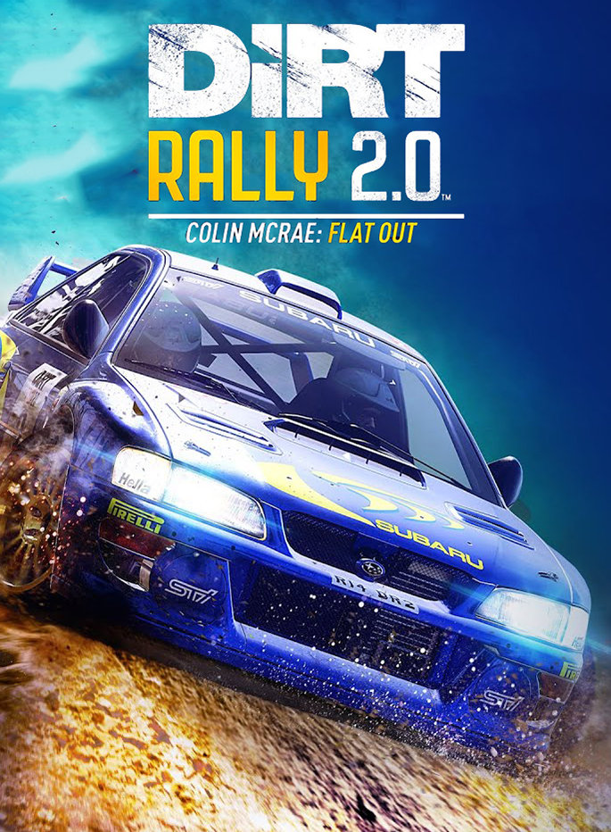 Poster for DiRT Rally 2.0 - Colin McRae: FLAT OUT