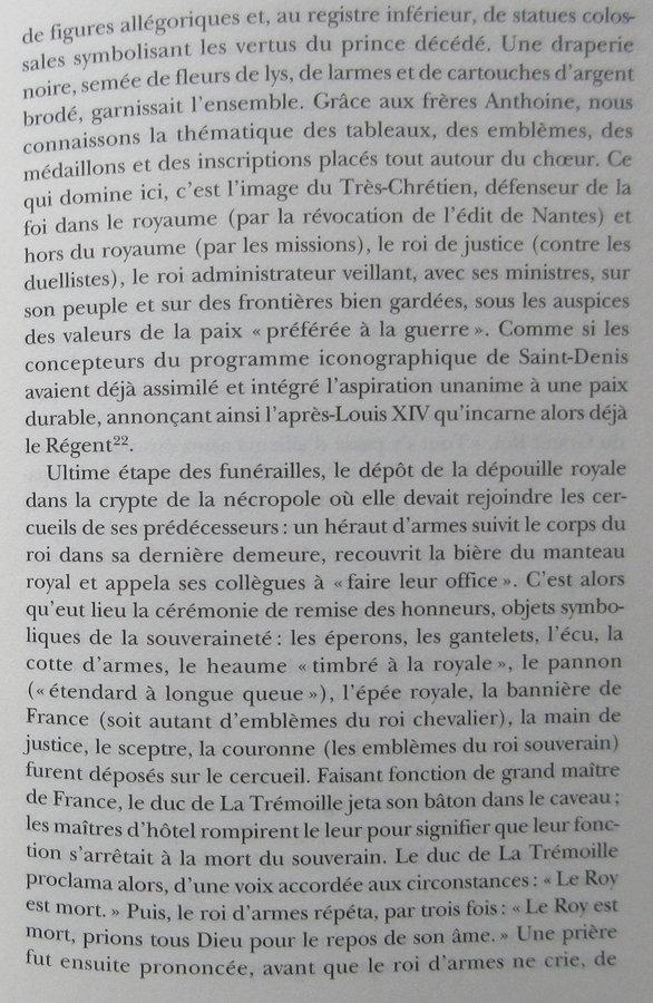 Le cérémonial des funérailles de Louis XIV 20032604581490317