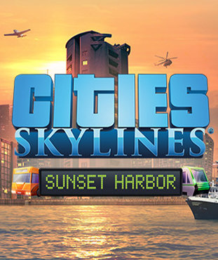 Poster for Cities: Skylines - Sunset Harbor
