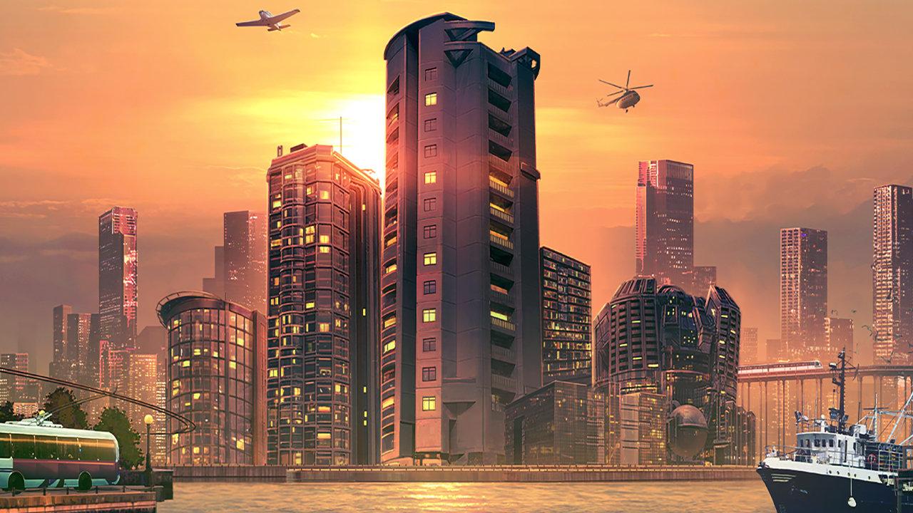 Cities: Skylines - Sunset Harbor image 1