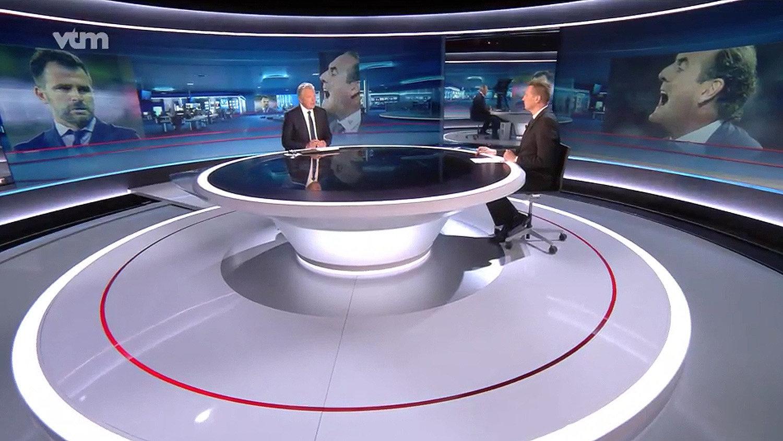 VTM Nieuws - Ancien décor (2018-2020) - NewscastStudio.