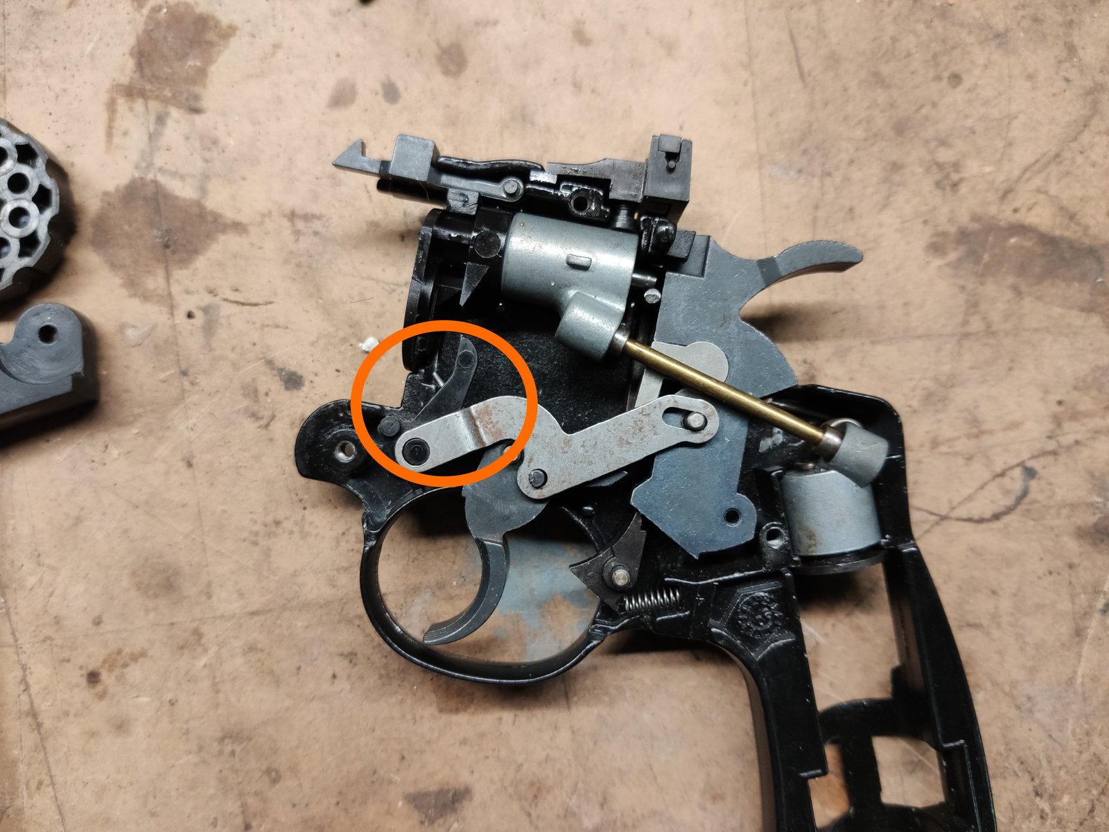Crossman 357 problème droigt élévateur 200329114930717417