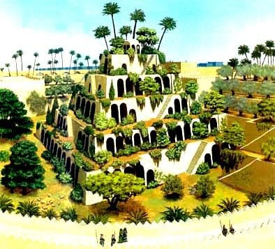 Les Jardins Suspendus de Babylone  dans Archéologie 200330105548349228