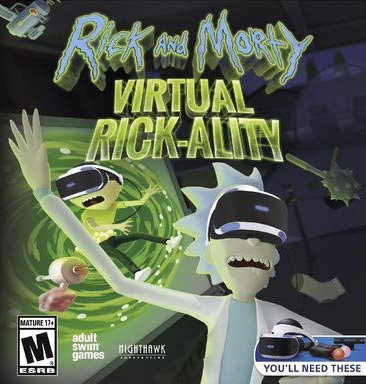 Poster for Rick and Morty: Virtual Rick-ality