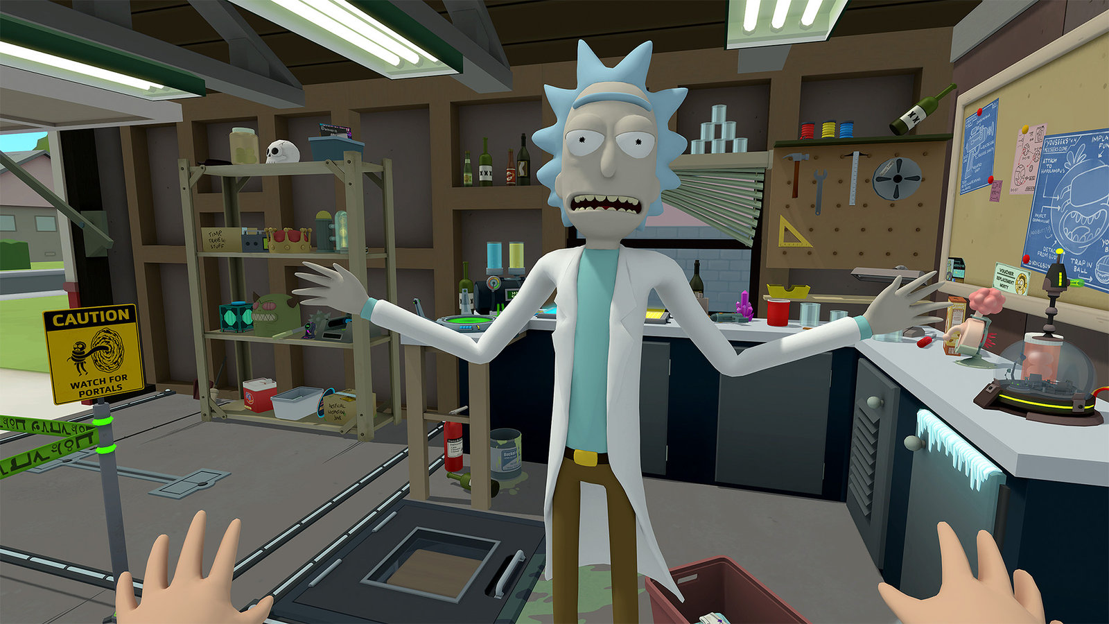 Rick and Morty: Virtual Rick-ality image 1