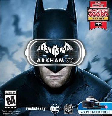 Poster for Batman: Arkham VR