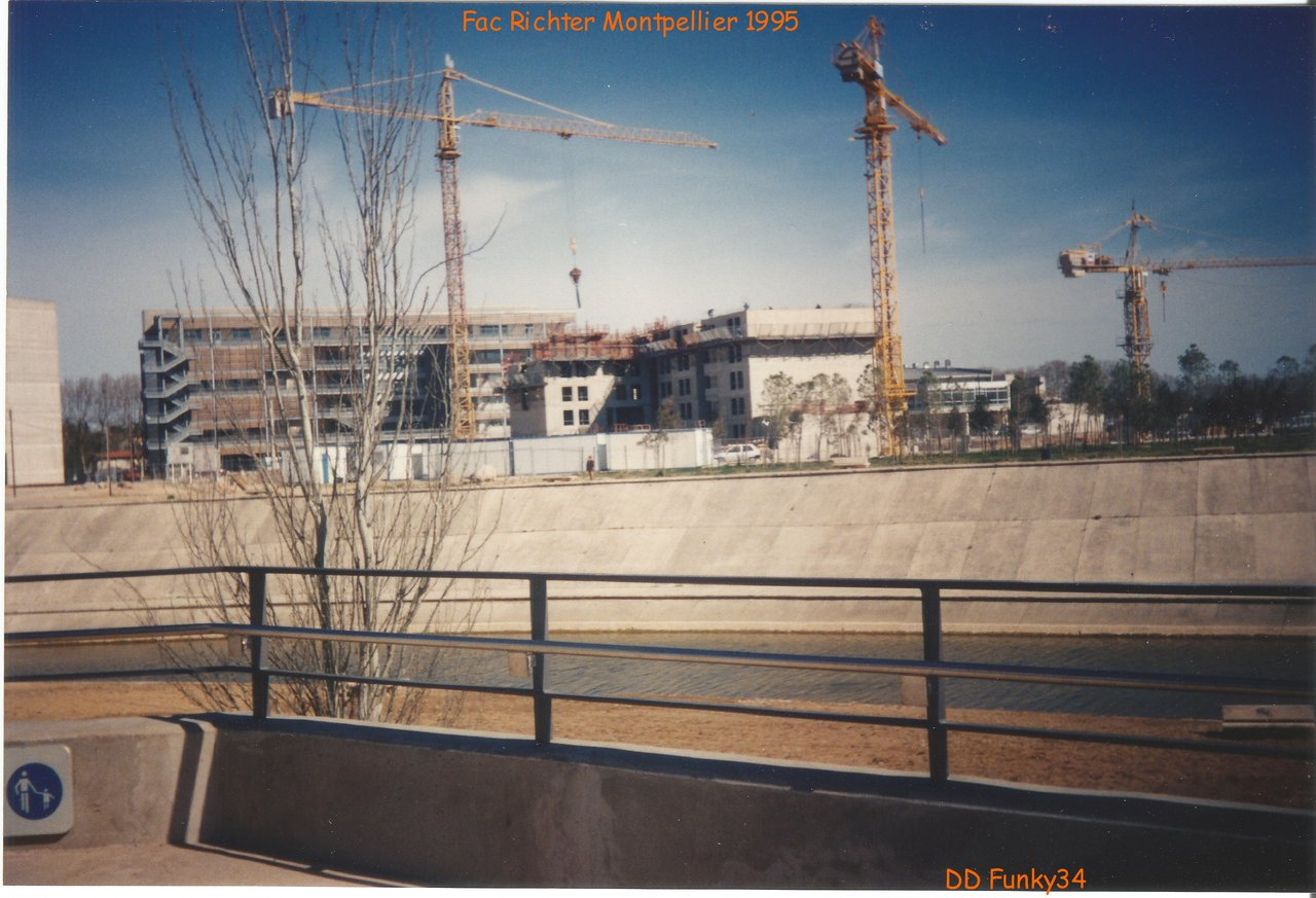 Construction Fac de Richter Montpellier 04-1995
