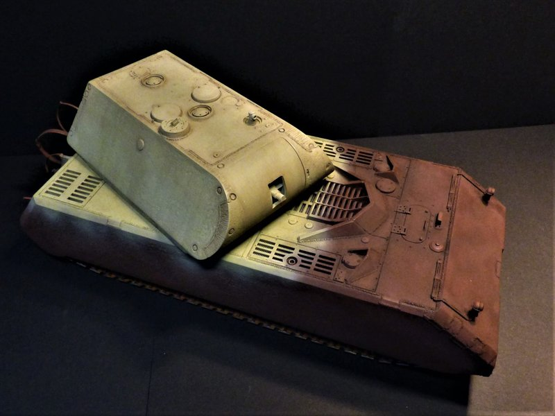 panzer - Panzer VIII MAUS type 205  CYBER HOBBY 1/35 ème - Page 8 200406082039822578
