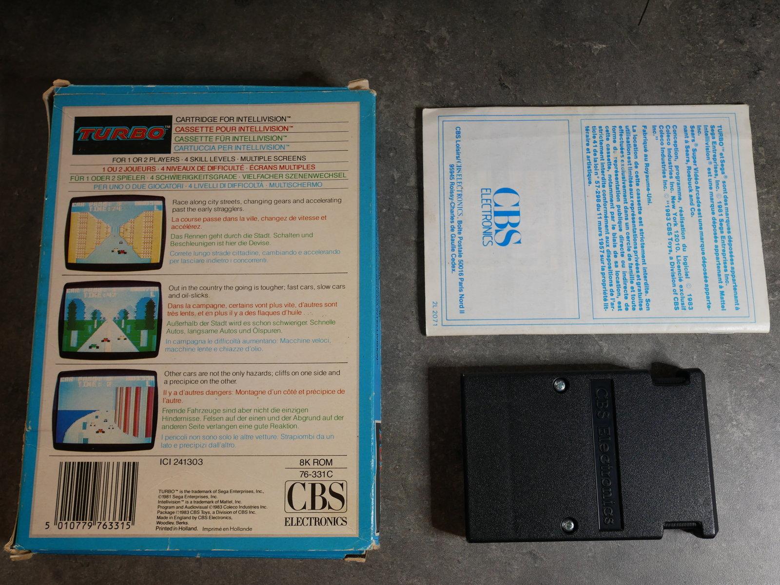 [VENDU] TURBO Intellevision en boite 200408054427141699