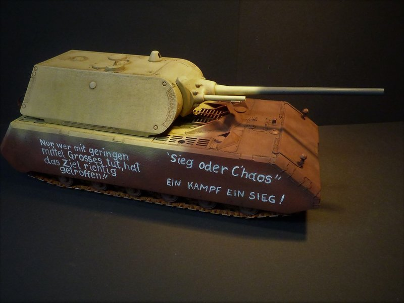 panzer - Panzer VIII MAUS type 205  CYBER HOBBY 1/35 ème - Page 8 200411085647179177