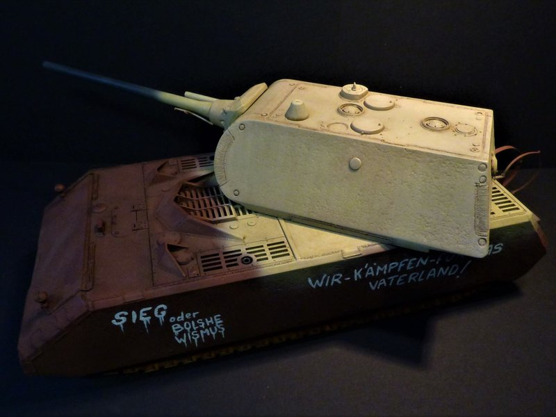 panzer - Panzer VIII MAUS type 205  CYBER HOBBY 1/35 ème - Page 8 200411085657219179