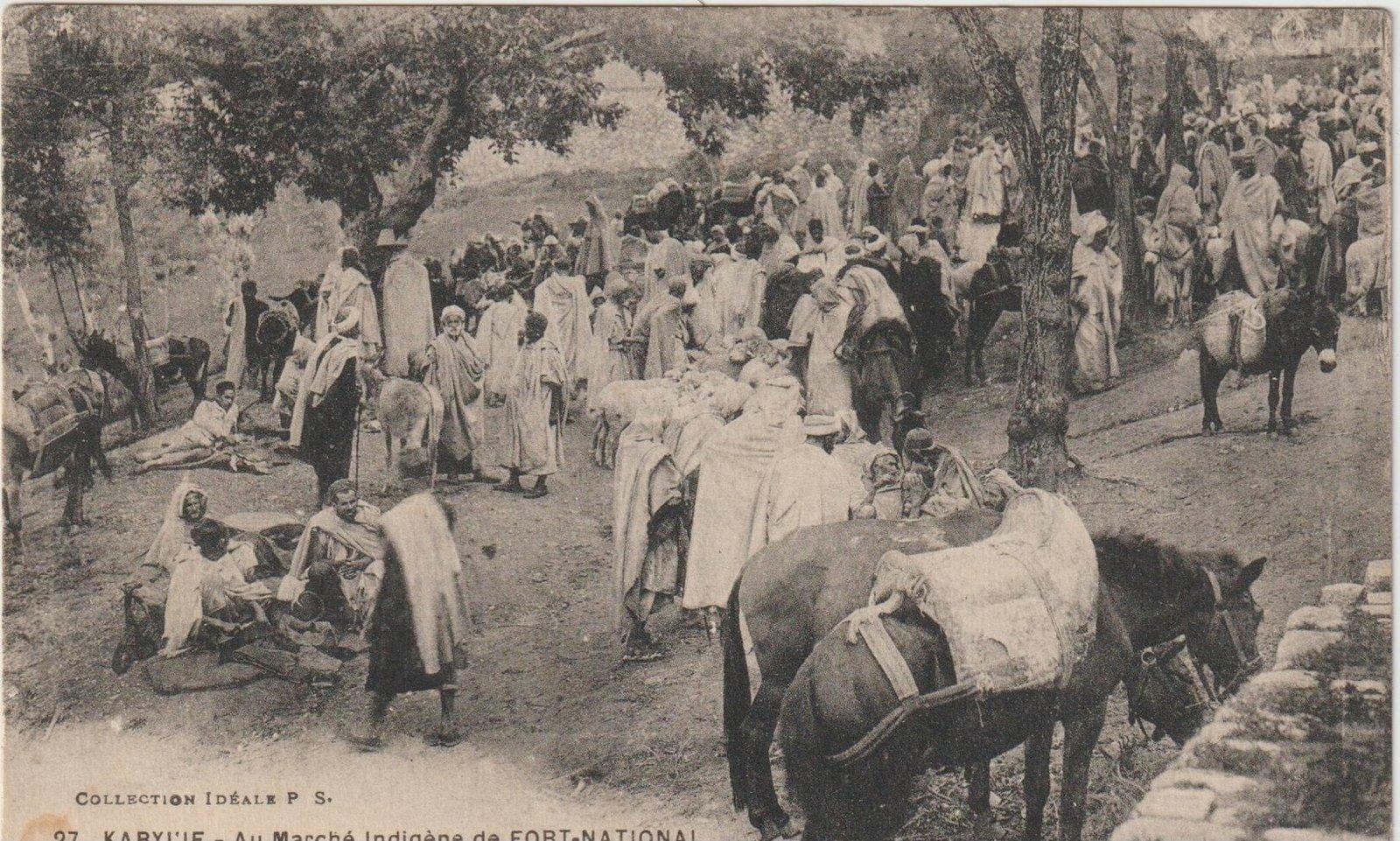 Le Marché Kabyle d'antan - Condition d'Établissement dans Attributs d'Algérienneté 200412074341416877
