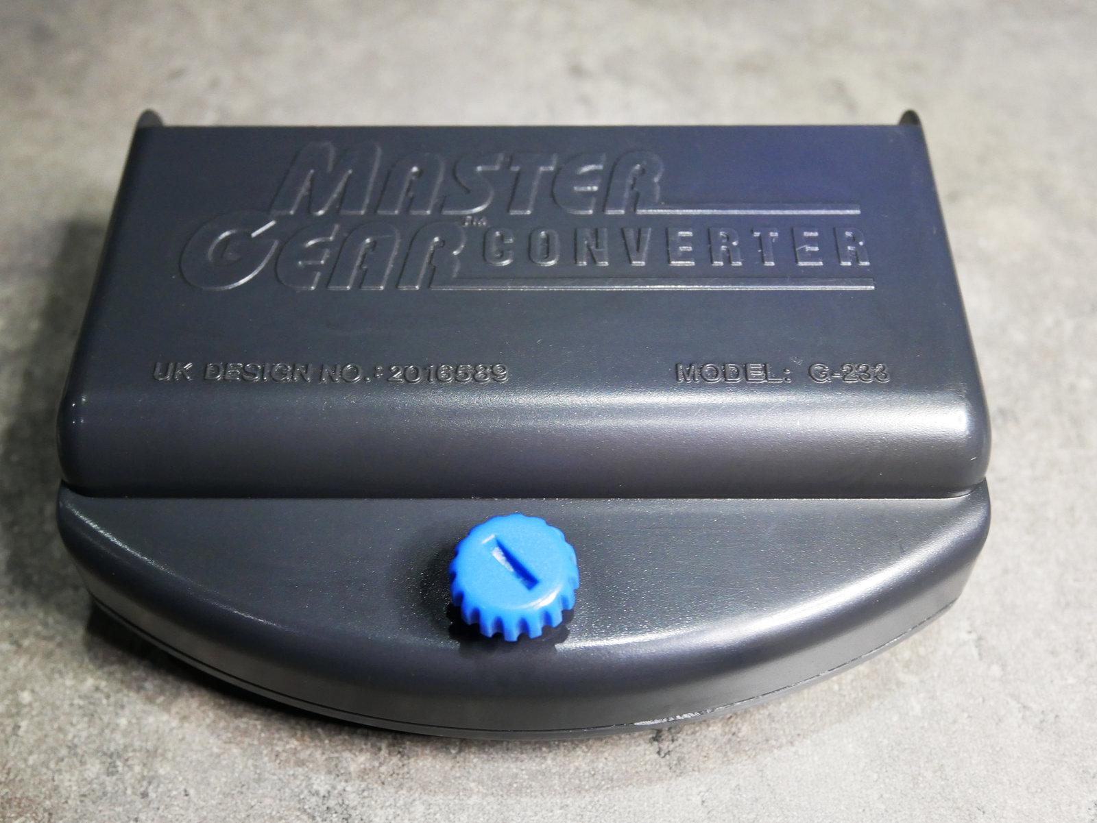 [VENDU] Lot Master Gear Converter + jeux 20041502371266273