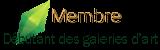 Débutant des galeries d'art