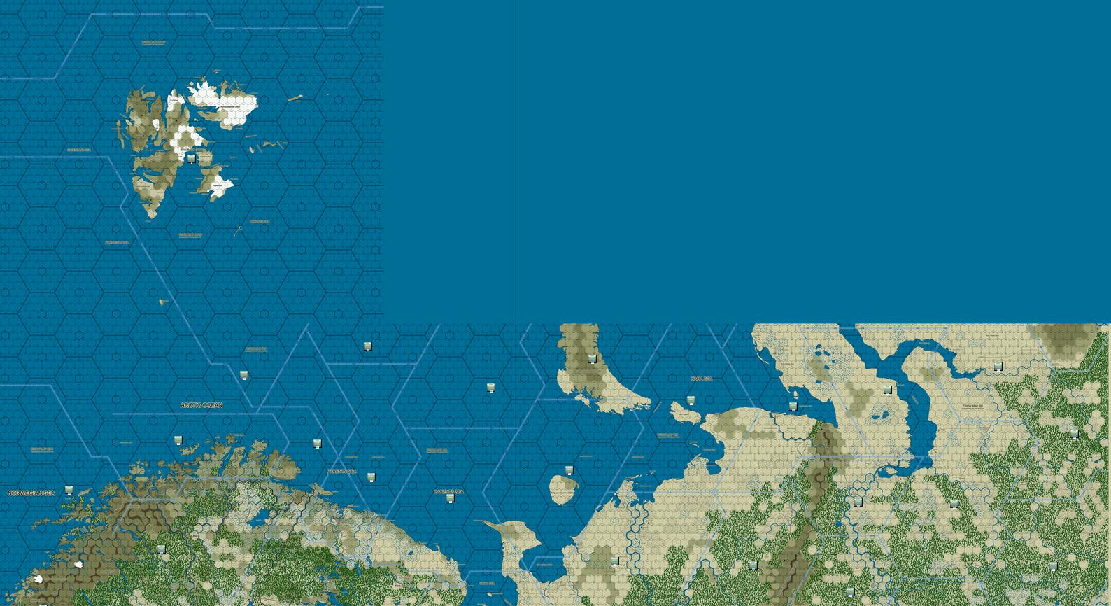 Carte Nord