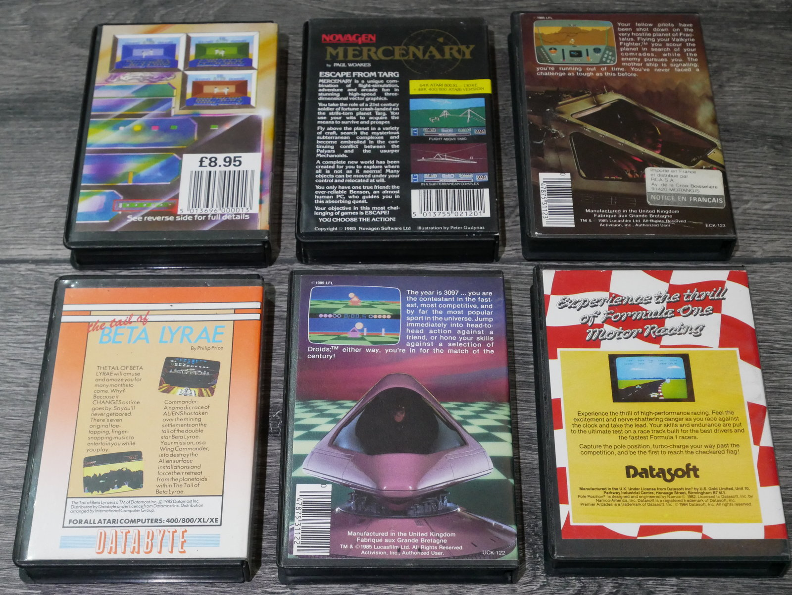 [EST] Jeux K7 Atari 8 bit 400/800/XL/XE 200424011651546495