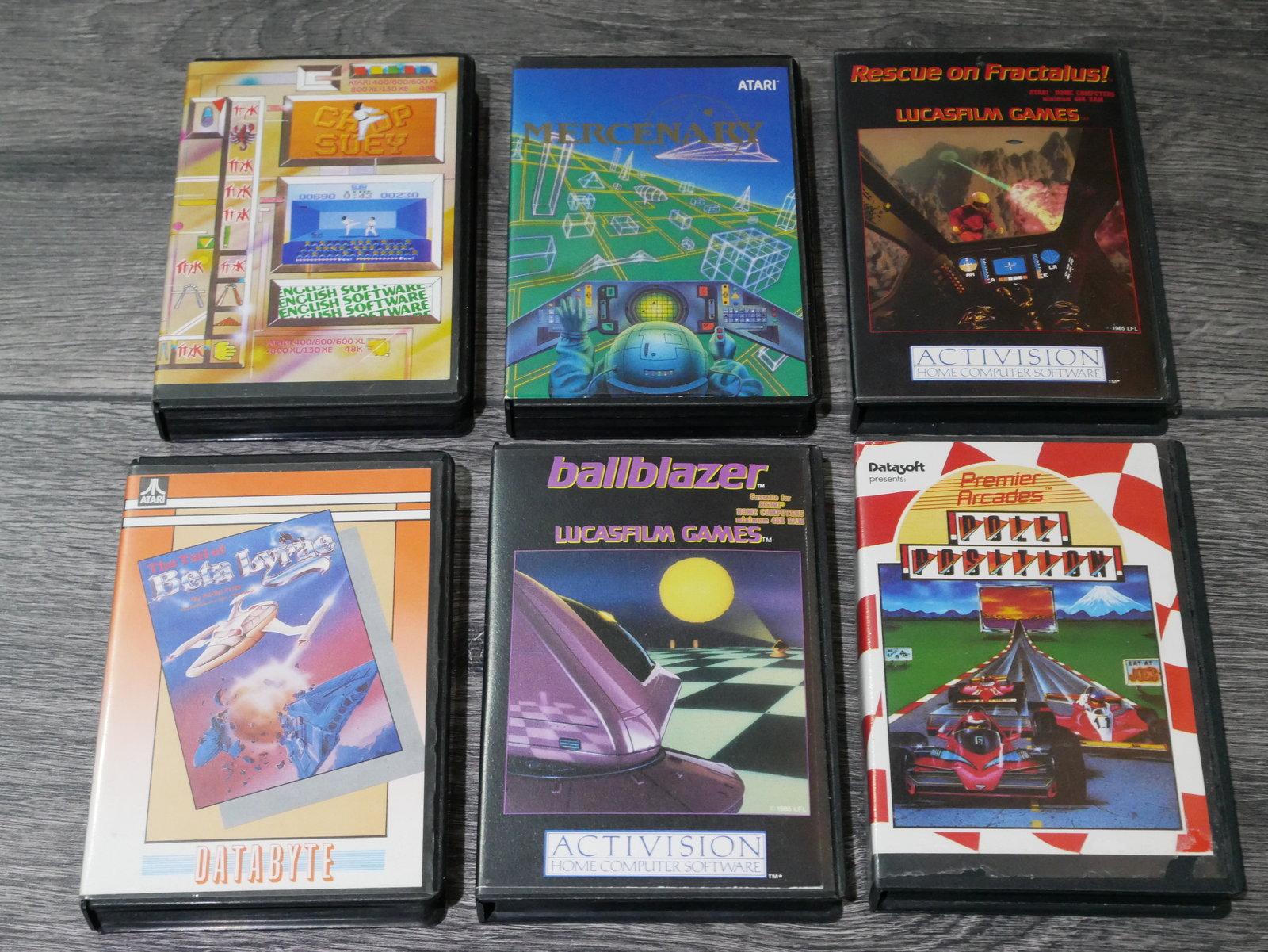[EST] Jeux K7 Atari 8 bit 400/800/XL/XE 200424011652249982