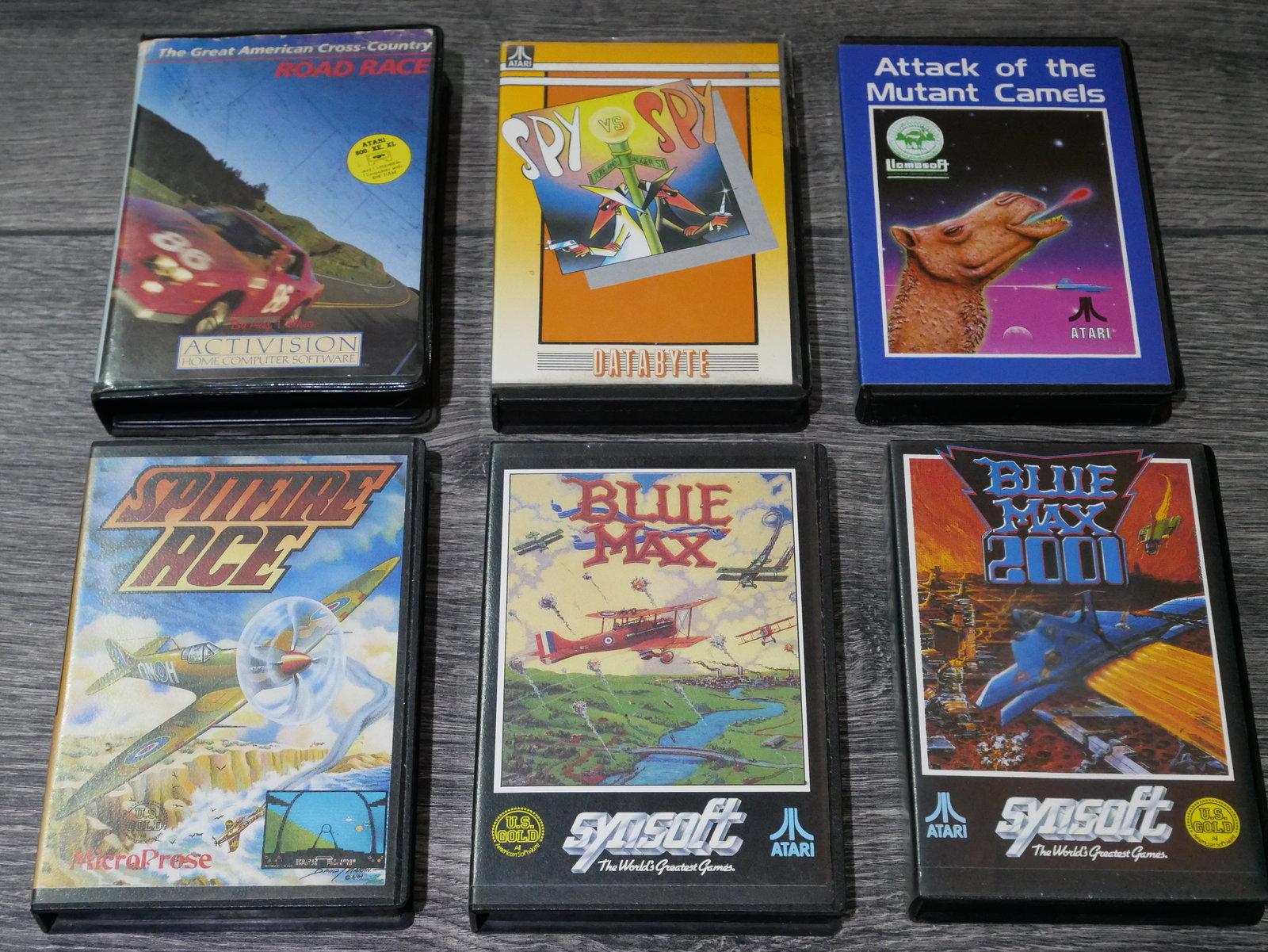 [EST] Jeux K7 Atari 8 bit 400/800/XL/XE 200424011653739141