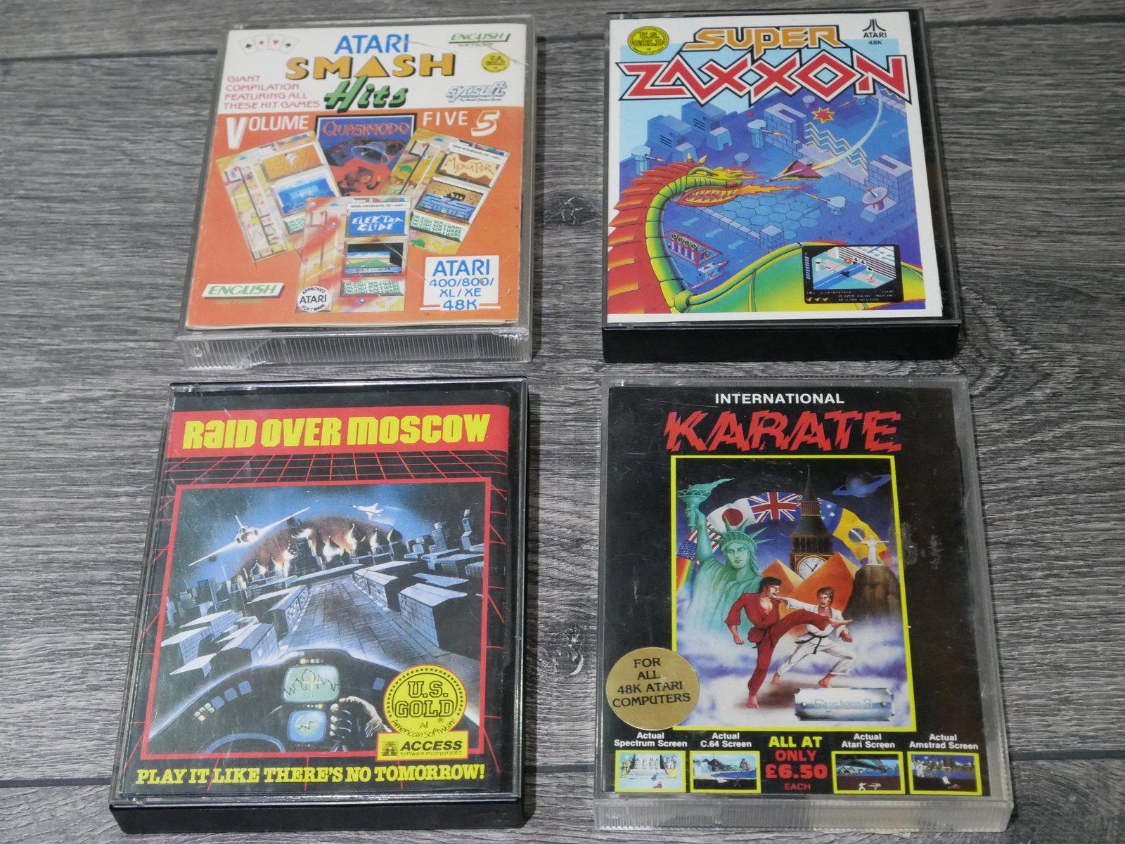 [EST] Jeux K7 Atari 8 bit 400/800/XL/XE 200424011656206213