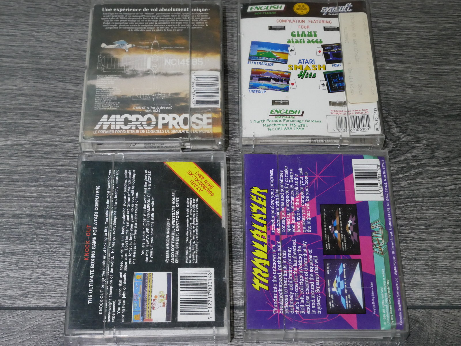 [EST] Jeux K7 Atari 8 bit 400/800/XL/XE 200424011659794737
