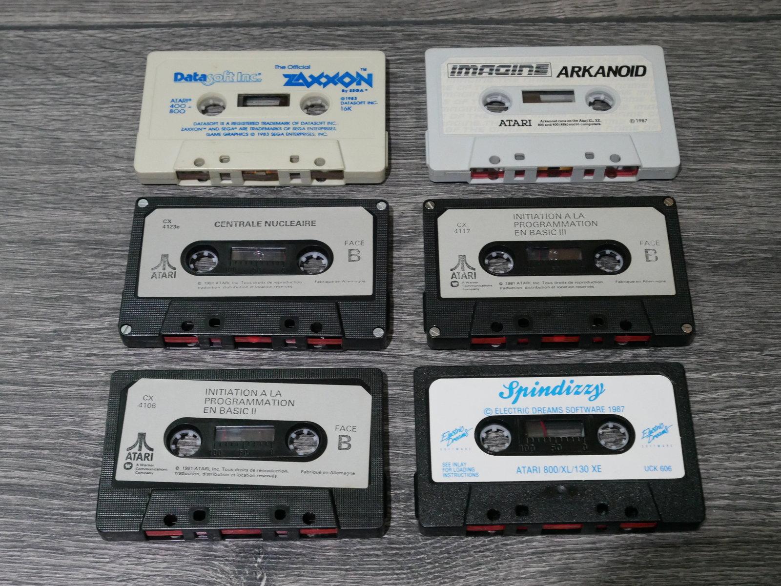 [EST] Jeux K7 Atari 8 bit 400/800/XL/XE 200424011703343763
