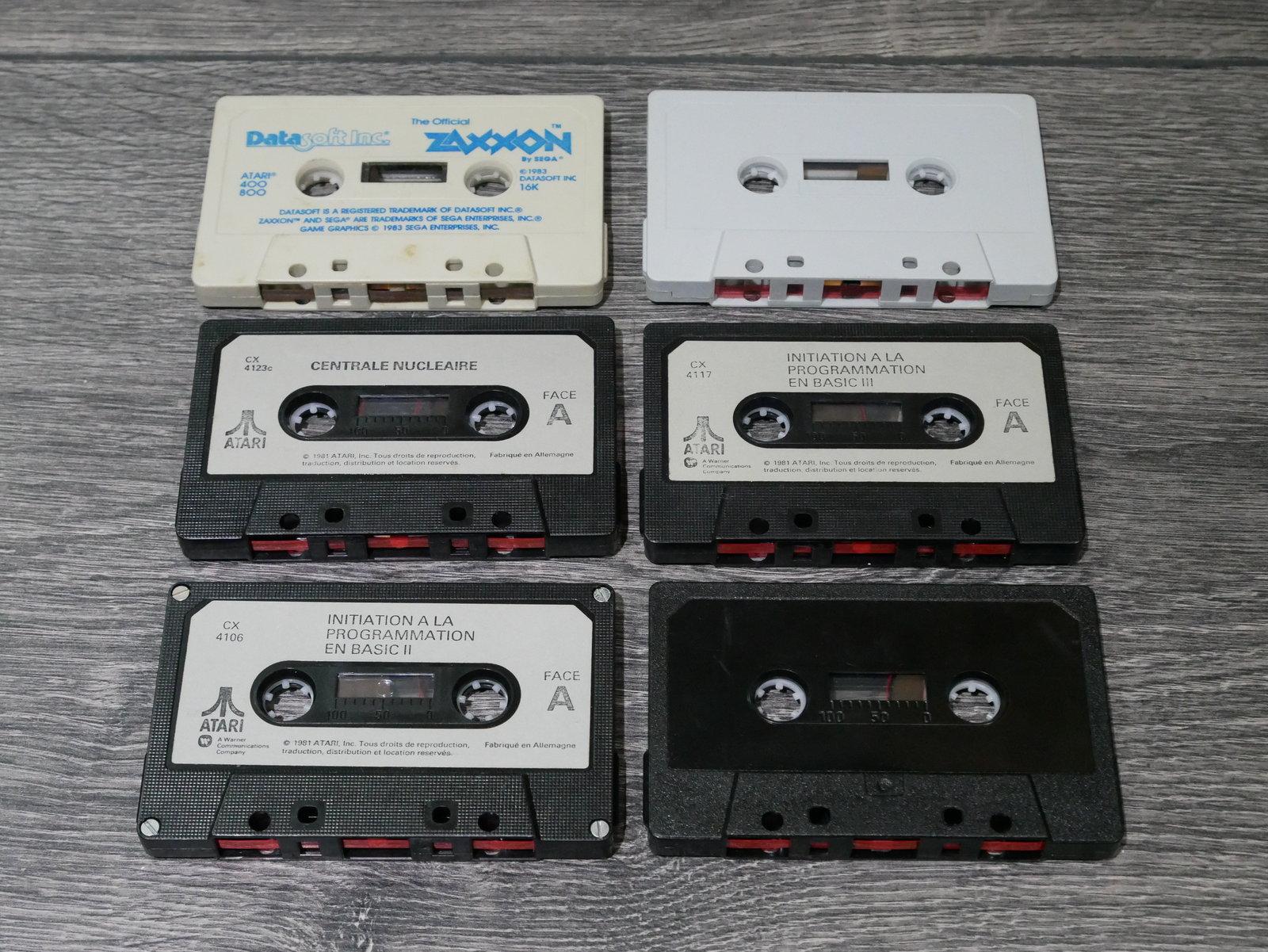 [EST] Jeux K7 Atari 8 bit 400/800/XL/XE 200424011704235712