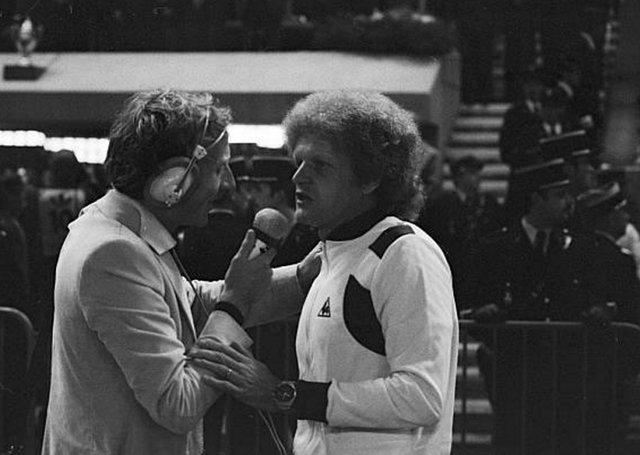 Jacques Vendroux et Robert Herbin 1977
