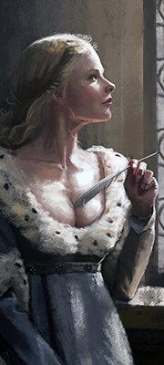 Ophelia Aiguille Dorée