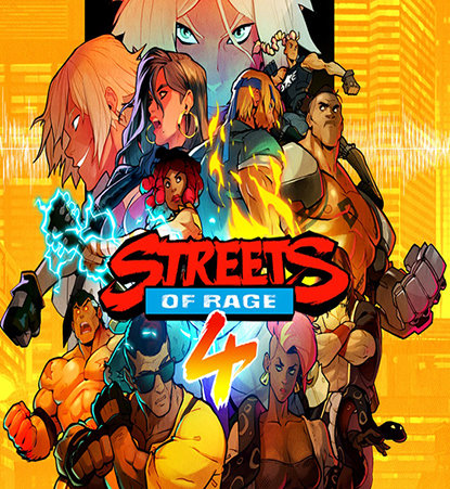 Poster for Streets of Rage 4