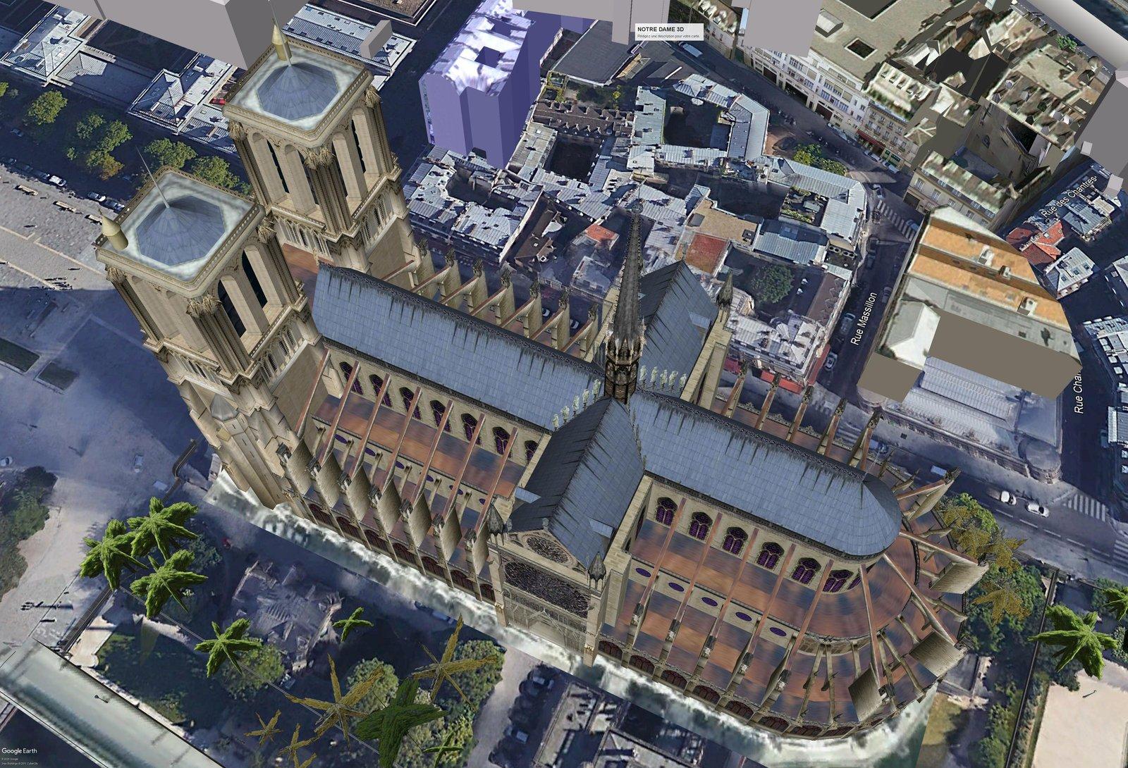 La cathédrale de Paris Après ....image jamais diffusée  200505093755739753