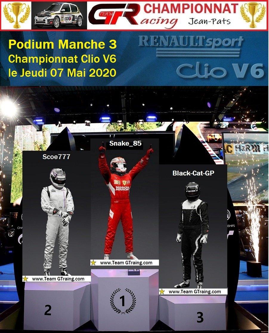 Résultat Manche 3 du Championnat Clio V6 le 07/05/2020 20050802284096458