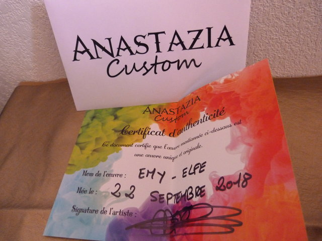 [V] Baisse MH Anastazia Custom, Barbie Toujours Couture 200510020627632940