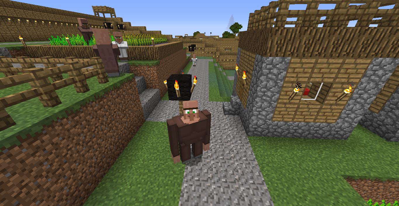 The golem villager
