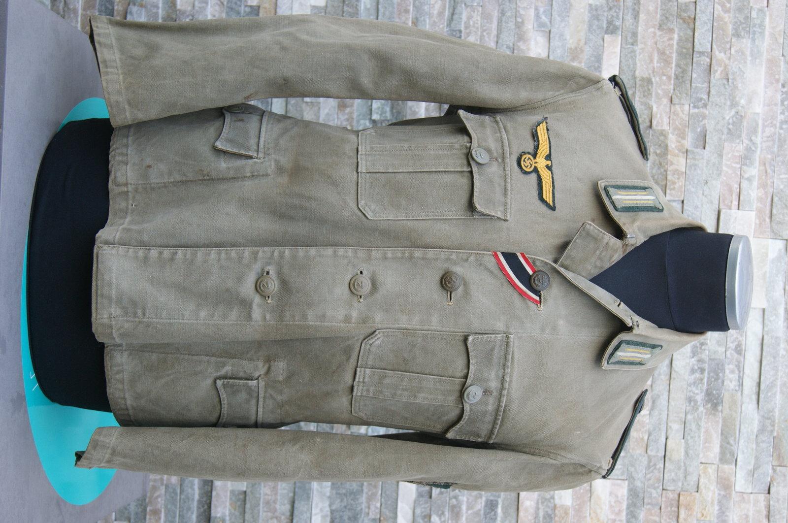 Veste toile KM Artillerie Cotière 200518093319779873