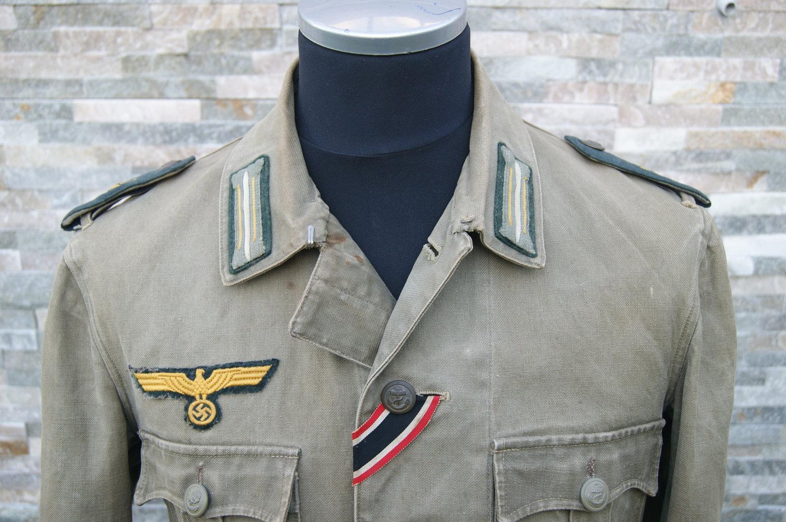 Veste toile KM Artillerie Cotière 200518093321721499