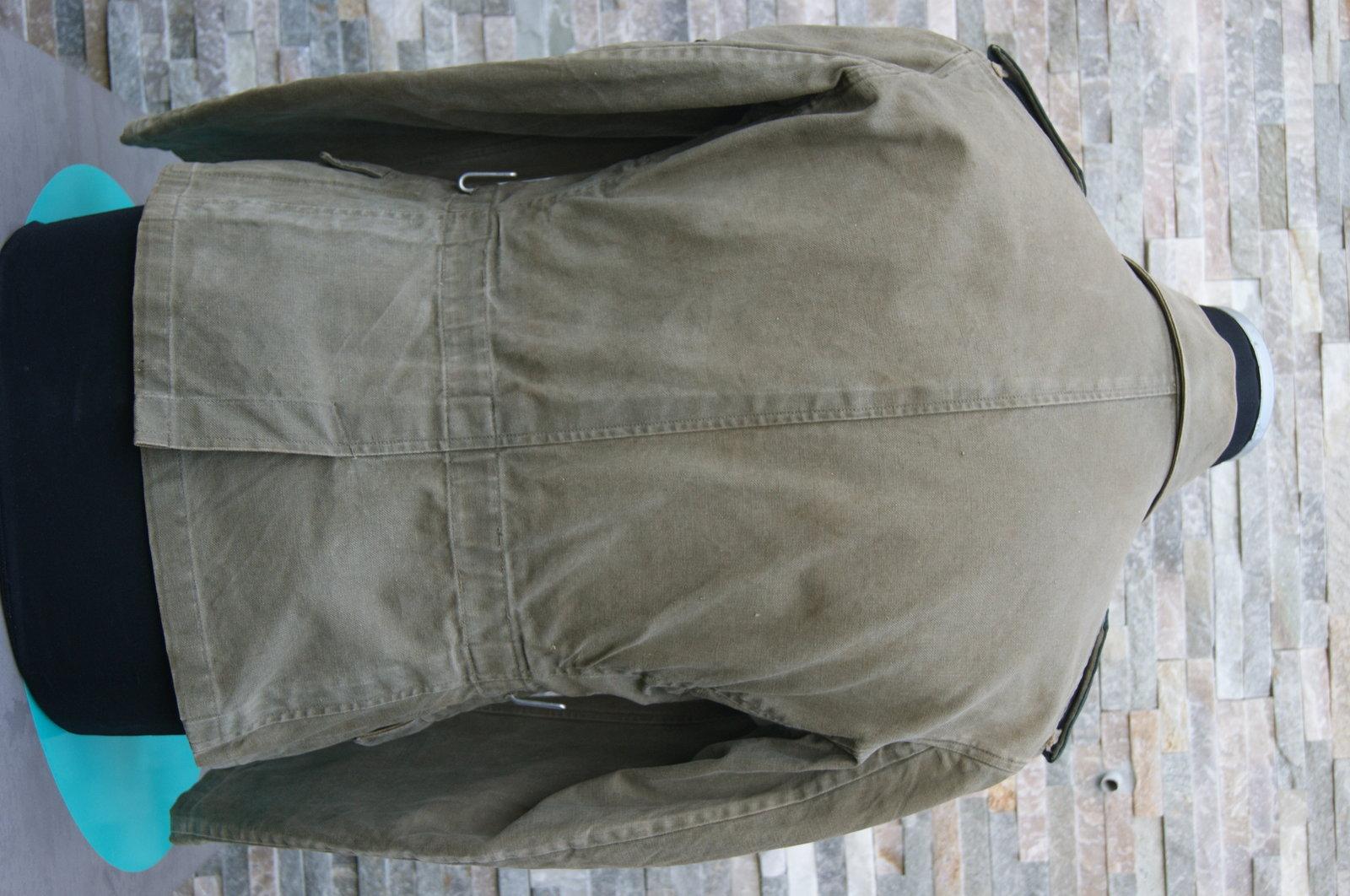 Veste toile KM Artillerie Cotière 200518093523431948