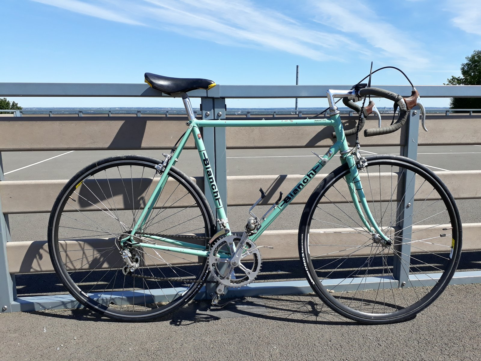 Bianchi Rekord 748, le vélo de famille.... MAJ Page 2 - Page 2 200518124735438754